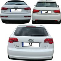 Schaltknauf Schaltsack A1-Audi A1 leder schaltmanschette